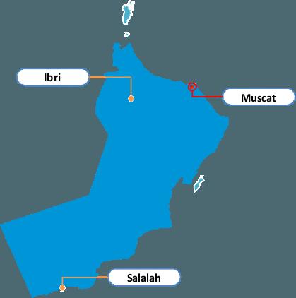 Oman Regional Offices - image Oman on https://avario.ae