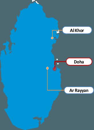 Qatar Regional Offices - image Qatar on https://avario.ae