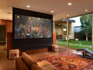 Home Theatre in Dubai by Avario Smart Home