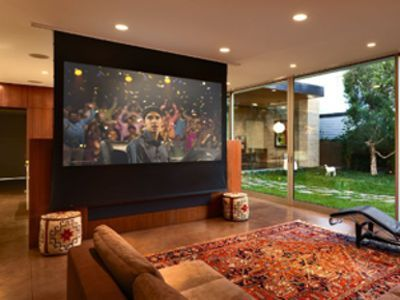 Home Theatre in Dubai by Avario Smart Home