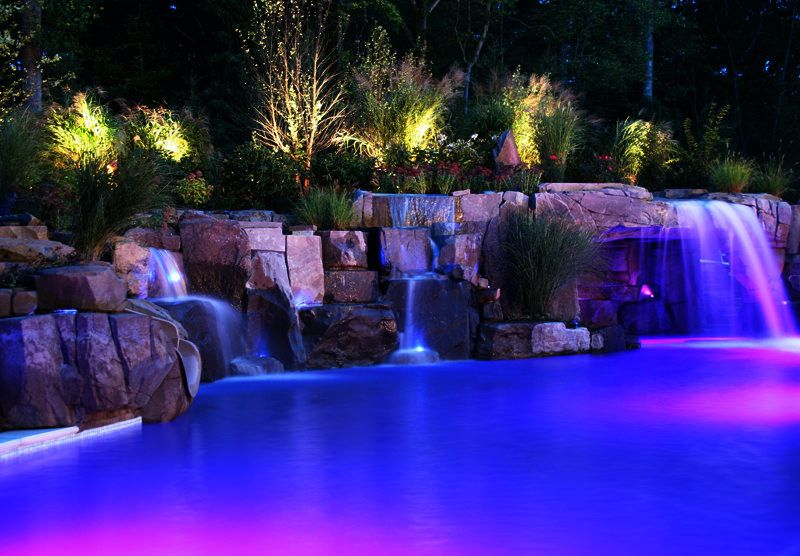 Multi Color Led Landscape Lighting