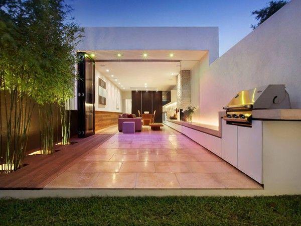 Beautiful outdoor lighting by Avario Dubai